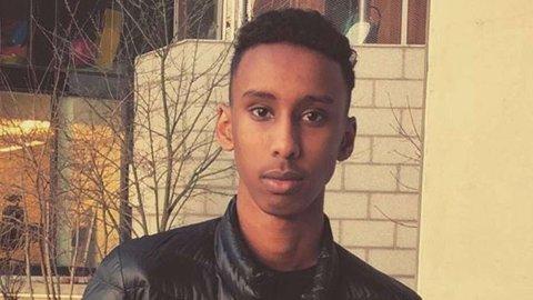 Hamse Hashi Adan ble skutt på Mortensrud torsdag. Han døde av skadene. Navn og bilde er frigitt av politiet.