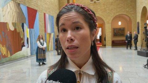 BEKYMRET: Stortingsrepresentant Lan Marie Berg (MDG) er bekymret for at den nye regjeringen ikke vil levere godt nok i klimapolitikken.