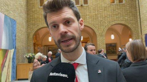 USIKKER: Rødt-leder Bjørnar Moxnes er usikker på om den nye Ap/Sp-regjeringen vil levere på alt de har lovet.