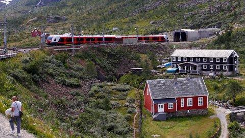 Med den nye Ringeriksbanen skal reisetiden med Bergensbanen kuttes med 50 minutter. Foto: Marianne Løvland / NTB