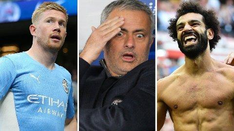 STORTALENTER: Både Kevin De Bruyne og Mohamed Salah ble sett på som store talenter da e spilte under José Mourinho i Chelsea.