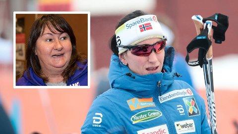 SKIDRONNINGER: Marit Bjørgen og russiske Jelena Välbe (innfelt) er to av langrennshistoriens mestvinnende utøvere.