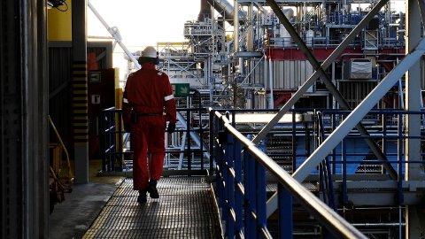 NOWE ODKRYCIE: Na norweskim szelfie dokonano kolejnego odkrycia ropy naftowej i gazu. Na zdjęciu: instalacje na polu naftowym Oseberg na zachód od Bergen.