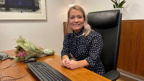 DRØMMEJOBBEN: Torsdag overtok Sandra Borch (33) som landbruksminister, og hun beskriver det som en uvirkelig drøm.