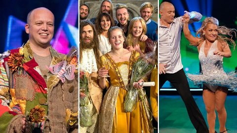 TV-SUKSESS: Trygve Slagsvold Vedum, Emilie Enger Mehl og Sandra Borch har gjort stor TV-suksess ved siden av sine ministerposter.
