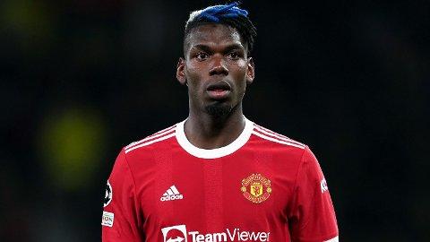 PÅ VEI BORT? Manchester Uniteds Paul Pogba.