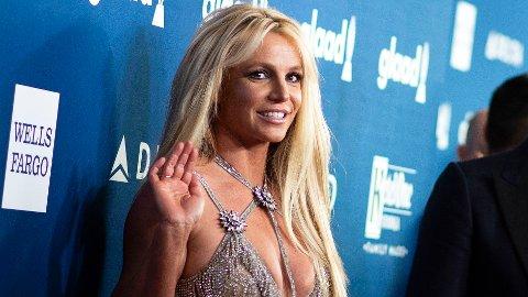 Britney Spears takker fansen. Her fra 2018.