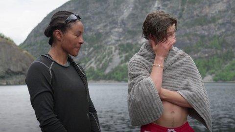 VEMODIG SEIER: Birk Ruud synes det var like trist å vinne over Cecilia Brækhus i utslagskonkurransen, som han ble glad for å være videre med i ekspedisjonen.