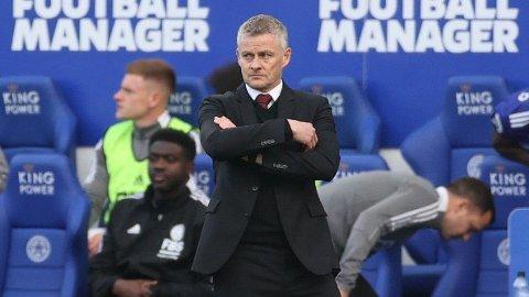 NYTT TAP: Manchester United tapte 4-2 mot Leicester på lørdag.