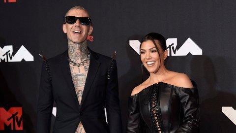 FORLOVET: Travis Barker har fridd til sin utkårede, Kourtney Kardashian.