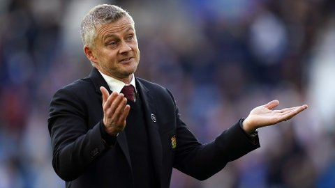 KRITISERES: Ole Gunnar Solskjær har fått en tøff start på sesongen med sitt Manchester United.