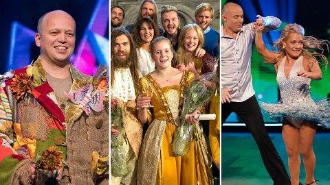 TELEWIZYJNE SUKCESY: Trygve Slagsvold Vedum, Emilie Enger Mehl i Sandra Borch odnieśli już spore telewizyjne sukcesy – i to nie jako ministrowie. Zdjęcie: NRK / NTB