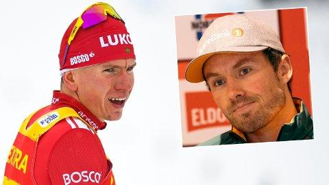 SKEPTISK: Emil Iversen er ikke overbevist om det som skrives om rival Aleksandr Bolsjunov.