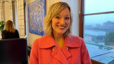 GÅR AV: Inga Marte Thorkildsen trakk seg tirsdag som skolebyråd i Oslo etter seks år som byråd. Nå skal hun finne seg en ny jobb.