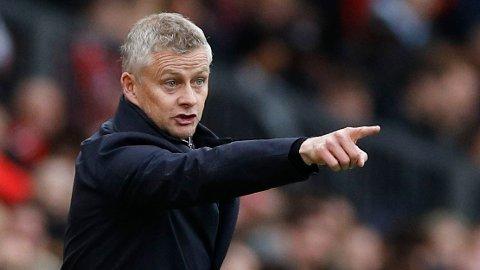 HARDT PRESS: Ole Gunnar Solskjæer er under hardt press etter flere skuffende resultater for Manchester United den siste tiden.