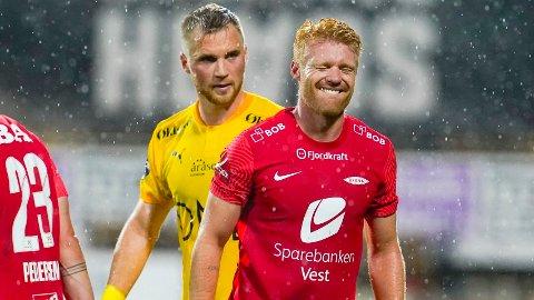 Sivert Heltne Nilsen har aldri tapt mot Odd som Brann-spiller.