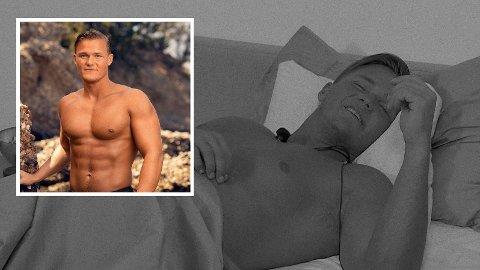 BRYSTSMERTER: «Ex on the Beach»-deltakeren Trygve Rognli Brandsdal kjenner brått intense smerter i brystet i tirsdagens episode.