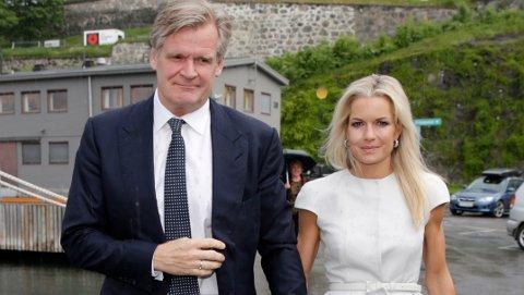 Celina Midelfart, her sammen med Tor Olav Trøim.