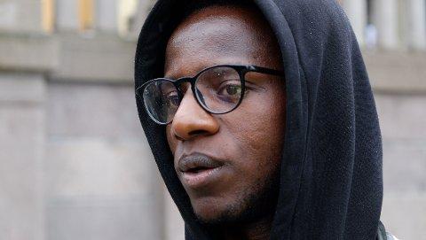 INITIATIVTAKER: Babu Katembo fra organisasjonen ARISE var en av initiativtakerne til George Floyd-demonstrasjonen i Oslo fredag.