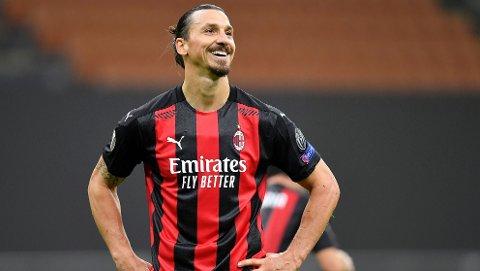 KAN SMILE BREDT: Zlatan kan smile bredt for hans retur til AC Milan.