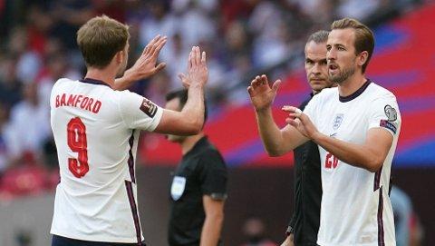 Harry Kane ble byttet inn i det 62. minutt mot Andorra, og han trengte bare ti minutter på å sette ballen i mål.