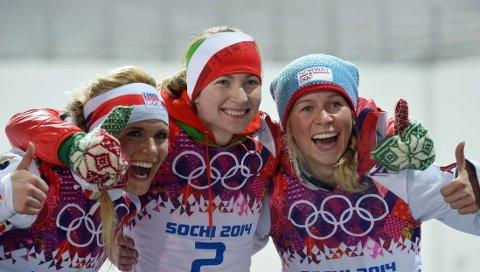 BRONSEJENTE: Tiril Eckhoff gikk inn til en sensasjonell bronse i Sotsji-OL mandag.