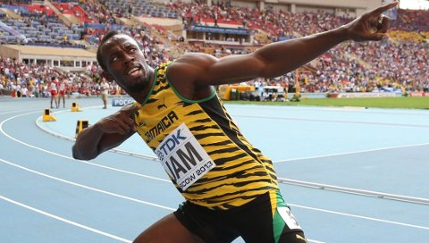 KOMMER IKKE: Usain Bolt deltar ikke på Bislett Games i år.