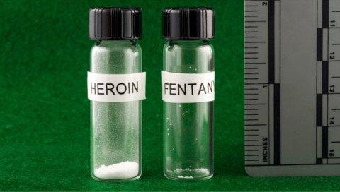 Selv 2 mikrogram av det syntetiske opioidet fentanyl kan være dødelig.