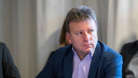 Dagen-redaktør Vebjørn Selbekk, her under et møtet i Kringkastingsrådet.