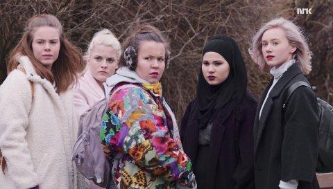 Eva, Vilde, Chris, Sana og Noora har gitt oss maaange fine øyeblikk. Her er de vi husker aller best!