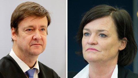 Stjerneadvokatene John Christian Elden og Mette Yvonne Larsen.
