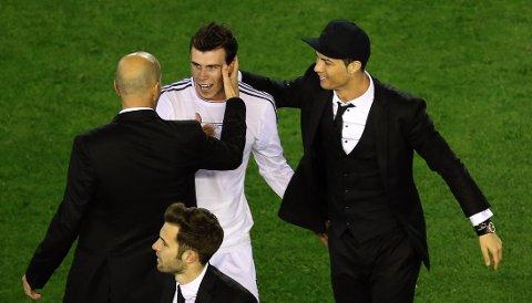 TRAGISK: Zinedine Zidane vil ha Gareth Bale og Wales til EM i 2016.