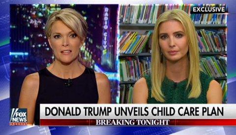 I DETTE INTERVJUET med Megyn Kelly hos Fox News, serverer Ivanka Trump en blank løgn om Hillary Clinton.