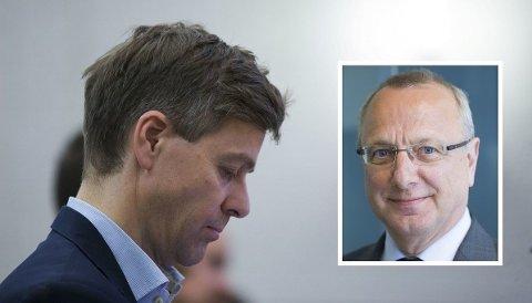 First House-partner Leif Monsen (innfeldt) er ikke nådig i sin karakteristikk av lederegenskapene til KrF-leder Knut Arild Hareide.