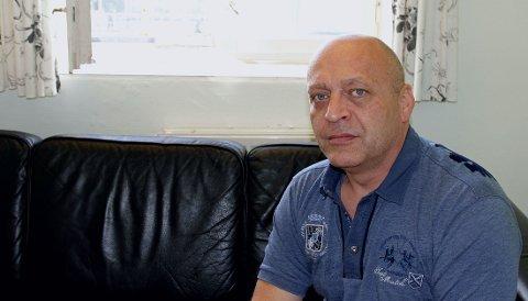 Gjermund Cappelen på besøksrom 2 i Ila fengsel ved en tidligere anledning. Han har sittet varetektsfengslet i flere år, men har nå startet den ordinære fengselssoningen.