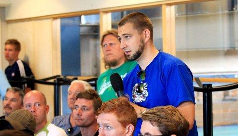 Klanens talsmann Erling Rostvåg etterlyser klare svar på hvordan VIF-ledelsen vil håndtere boten fra Herman Stengel-dommen.