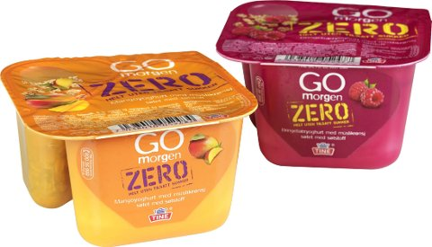 YOGHURT UTEN TILSATT SUKKER: Disse to yoghurtene har blitt feilmerket.