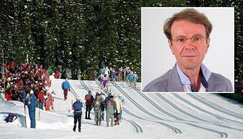KREVER SVAR: SVT-journalist Hasse Svens mener Norges Skiforbund må legge fram bevisene han hevder de har lovet. Svens er klar på at norske langrennsløpere har dopet seg - i særdeleshet på 90-tallet. Bildet er fra OL på Lillehammer i 1994.