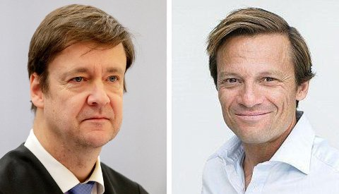 DNA-KAMP: Morten Angelil (t.h.), som i 2012 ble dømt for grov skattesvik, kjemper videre i Høyesterett med sin advokat John Christian Elden.