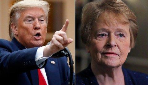 Gro Harlem Bruntland synes ikke noe om Trumps angrep på WHO.