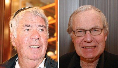 """Egil """"Drillo"""" Olsen og Arne Scheie har bidratt med spørsmål i kunnskapskonkurransen Kardinal."""