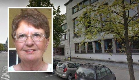Minstepensjonist Eva Ukkelberg ble svindlet for hele morsarven av en advokat hun hadde kjent lenge. Straffesaken mot eks-advokaten kommer trolig opp for Trondheim tingrett (bildet) en gang i løpet av høsten.