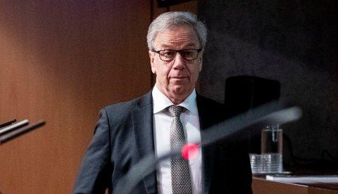 HEVER RENTEN: Sentralbanksjef Øystein Olsen øker renten torsdag. Foto: Berit Roald / NTB scanpix