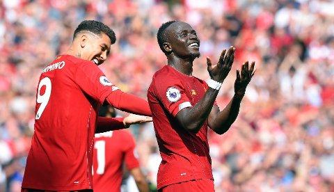 Sadio Manebør for øyeblikket være det foretrukne kapteinsvalget blant Liverpools angrepstroika.