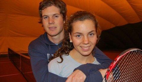 ESS: Ulrikke klarer ikke å tukte broren Theodor (22) på banen. I hvert fall ikke ennå.
