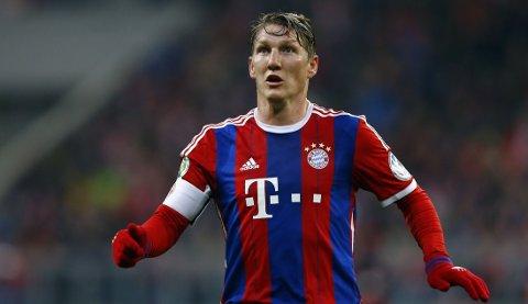 KLAR FOR UNITED: Bastian Schweinsteiger spiller for Manchester United kommende sesong.