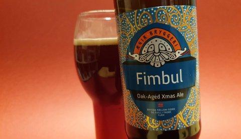 Ølet «Fimbul» fra bryggeriet Ægir kan kjøpes på Vinmonopolet.