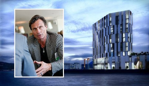 HØY SJØ: Petter Stordalen og Choice dobler hotelltilbudet i Harstad med et nytt hotel i Nord-Norges kulturhovedstad.