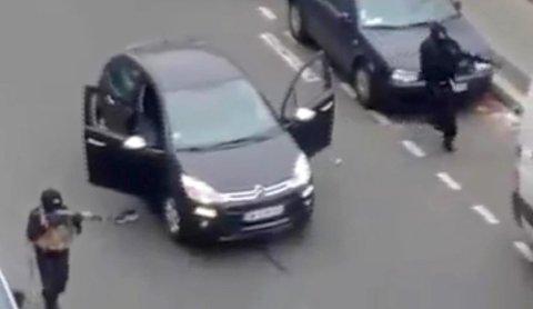 To brødre sjokkerte verden med et væpnet og dødbringende angrep mot Charlie Hebdo-redaksjonen i Paris i januar 2015.