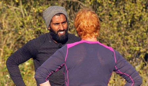 HEIET FREM LAILA: Ali Ahmad heiet frem Laila når hun løp med vannbøttene.